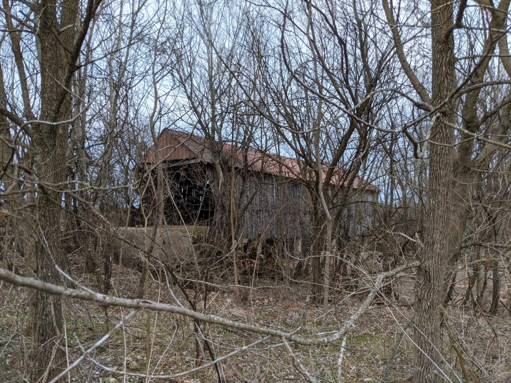 Historical Covered Bridge in Ozark, MO Near land to be annexed